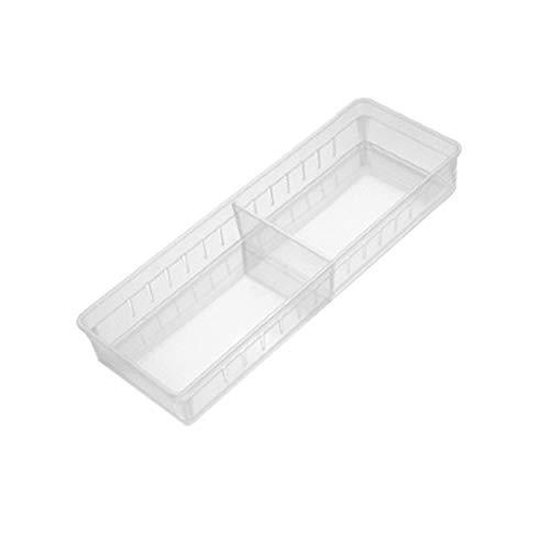 Sulifor Haushaltsküchenbrett Teiler einstellbare Aufbewahrungsbox Schublade Aufbewahrungsbox, Küche Schublade Aufbewahrungsbox