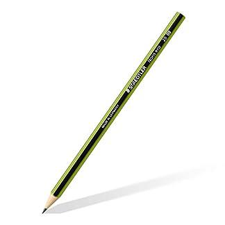 Staedtler Noris Eco 18030–2B lápiz dureza 2B, 12unidades, en estuche de cartón