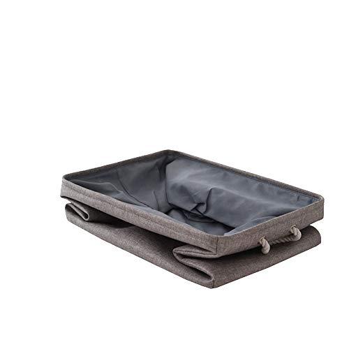 Zusammenklappbar Kinder Spielzeug Lagerplätze Korb Portable Storage Organizer Cube faltender Aufbewahrungsbehälter Organisator für Home Office 1pc Grau 30cm -