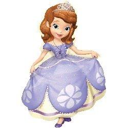 35' Supergestalt-Ballon Sofia die Erste Juniorprinzessin von Disney Geburtstagskind T... (Die Sofia Erste-ballon)