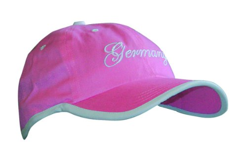 ProFeet Herren Cap Lady Sty/one size Cap Lady Sty/one size, pink, one size, WM-DE-HC-008 (Womens Pink Kappe Verstellbare)