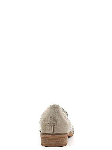 CAFè NOIR EL142 perla beige scarpe donna tipo mocassino fori strass Beige