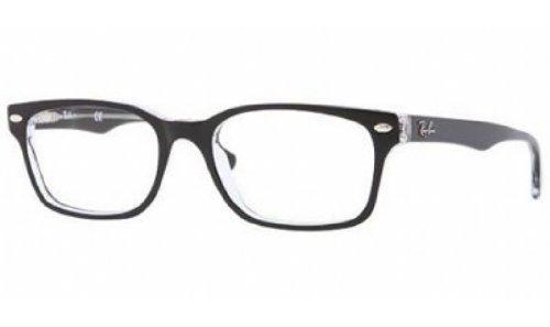 Ray-Ban Damen 5286 Brillengestelle, Schwarz (Negro), 51