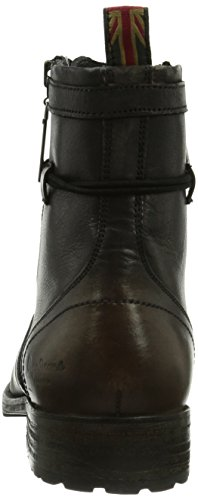 Pepe Jeans London Melting Zipper Heritage, Bottes homme Noir