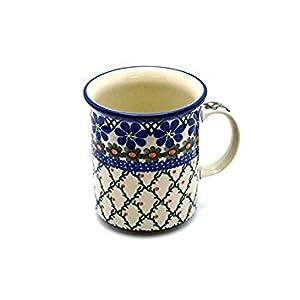 Polish Pottery 8 oz. Straight Sided Mug – Primrose