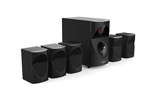 Philips in-SPA 5190B/94 Multimedia Speaker System (Black)