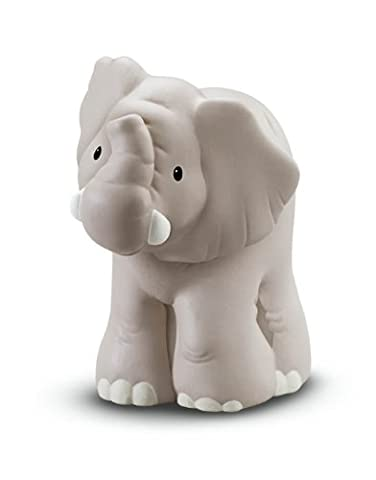 Fisher Price - W2589 - Figurine - Jouet d'Eveil Premier Age - Animaux du Zoo Little People - Elephant