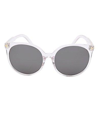 Preisvergleich Produktbild Runde Sonnenbrille Reflektierende Sonnenbrille Persönlichkeit Oversize Box Sonnenbrille ( farbe : 3 )