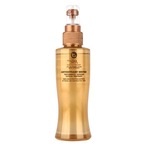 Trattamento cuticole per capelli ruvidi e duri 150 ml tecna the spa enzymetherapy anti oxydant nectar treatment 150ml