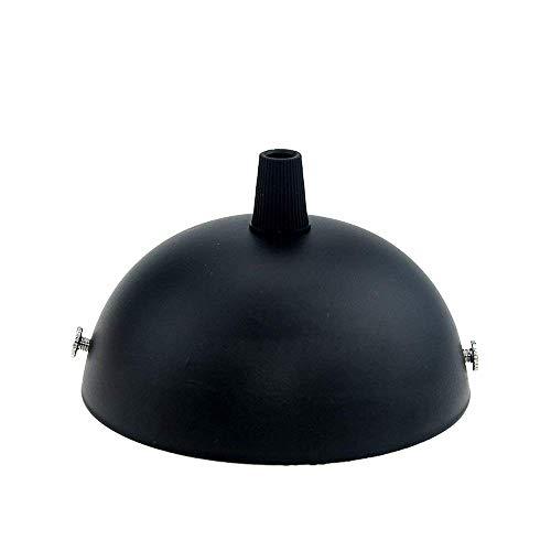 Reachyea vintage DIY accessoire de base de lampe de plafond 100 mm de diamètre, noir