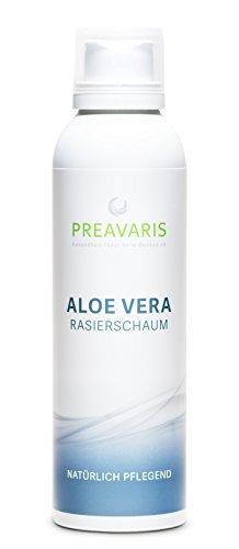Aloe Vera Rasierschaum • mit 40 % Aloe Vera | 100 % Natürlich | Für Frauen und Männer | Für eine milde und angenehme Rasur