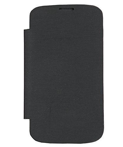 iCandy™ Synthetic Leather Flip Cover For Micromax Bolt A71 - BLACK  available at amazon for Rs.190
