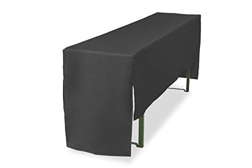 Biertischhusse halblang für Bierzelttisch Premium Pro (nur Tisch) 220 cm (Tischbreite 70cm,...