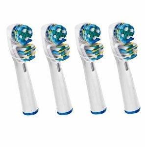 Tool Store 4 x ERSATZ Zahnbürste Kompatibel für Braun Oral B Dual...