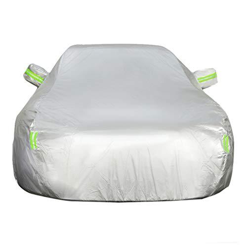 Autoplanen Kompatibel Mit Mazda CX-3 Car Vollgarage Cover Atmungsaktive wasserdichte Plane Anti-UV Verdicken Oxford Tuch (Color : Silver)