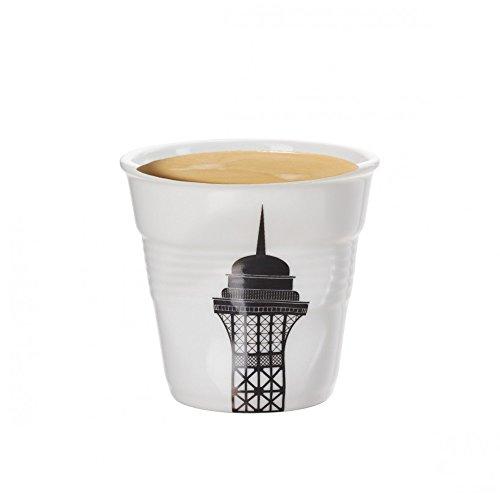Revol Gobelet froissé expresso porcelaine Paris
