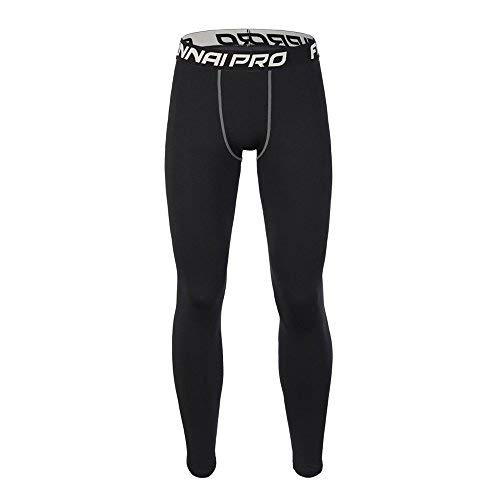 Leggings per Allenamento di Fitness per Uomo Gym Running Yoga Athletic Pants Calzamaglia Sportiva da Uomo