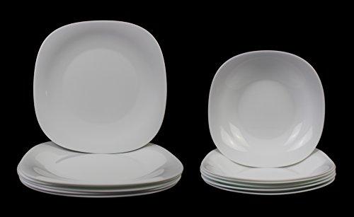 15/x 10/x 23/cm Porcelaine FiftyEight Vase-d/étendu Blanc