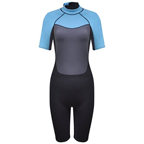 vidaXL Damen Neoprenanzug Shorty Surfanzug Tauchanzug Schwimmanzug XL 170-175cm 2,5mm