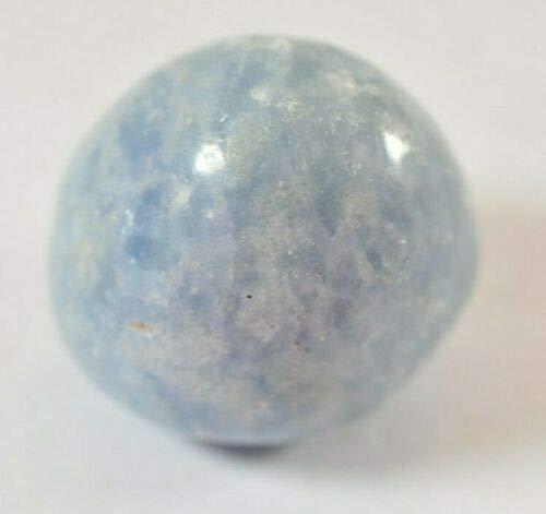 Grosse pierre de calcite bleue – 3,0 cm 35,5 g – Calmant, gorge...