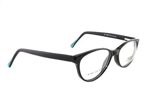 DOUBLE BATTERY (M4963 C-1) Full Rim Cat Eye Spectacles/ Glasses, Black color Full Frame Eye wear for men|women  available at amazon for Rs.900