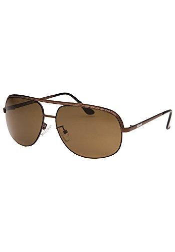 Die Timberland Frauen Aviator Braun Sonnenbrille