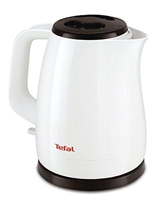 Tefal KO150110 Bouilloire électrique d'une capacité de 1,5 l, avec puissance de 2400W - Blanche et noire