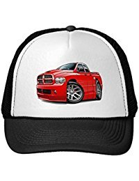 funny-dodge-srt10-ram-dualcab-red-trucker-hat