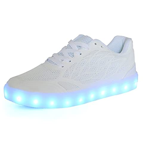 Baskets Lumineuses Homme - DoGeek - Chaussure Basket Lumineuse - Homme