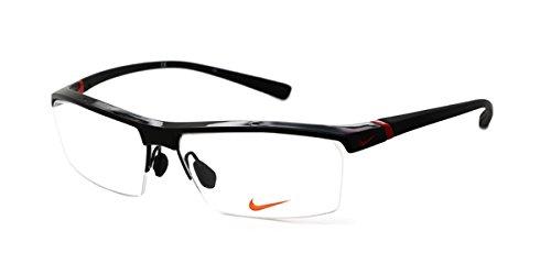 Nike Herren 7071/1 002 57 Brillengestelle, Gloss Black