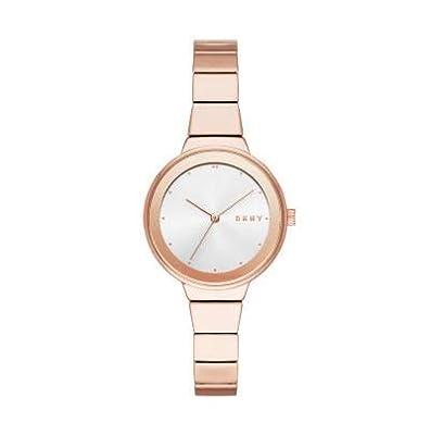 DKNY Reloj Analógico para Mujer de Cuarzo con Correa en Acero Inoxidable NY2695 de DKNY