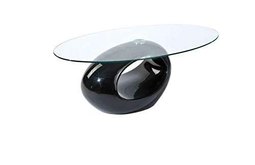 mobilier nitro Table Basse Design Vancouver Blanc Pur,Noir Pur