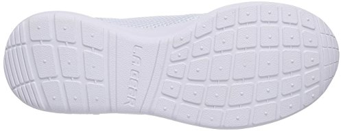 L.A. Gear Sunrise Damen Sneakers Weiß (Wht-Wht 27)