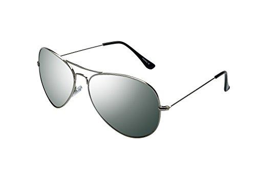 RAVS Original Sonnenbrille Pilotenbrille - Top Gun - Größe Gestell Gold