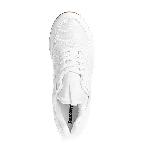 Saucony Herren Grid 8500 Trainer, Weiß Multicolor