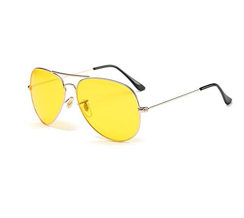 b783fcb79e VIPASNAM-Las Vegas Fear and Loathing Vintage Yellow Pilot Sunglasses Hunter  S. Thompson