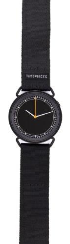 Rosendahl 43572 - Reloj analógico de cuarzo unisex, correa de nailon color negro