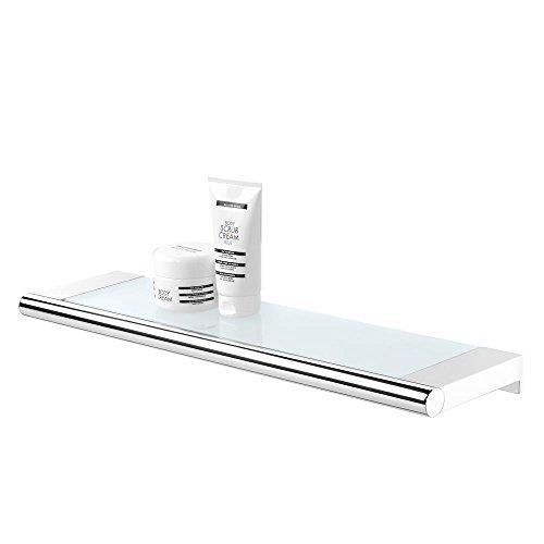 Tiger Ablage für das Badezimmer, Metall, Chrom, 16x 60x 4,2cm