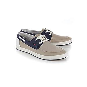Tommy Hilfiger Bootsschuhe Herren, Farbe Blau, Marke, Modell Bootsschuhe Herren FM0FM02205 Blau