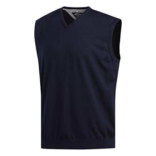 adidas Adipure Sweater Vest Golf Herren Pullunder Navy DX0926 Grösse XXL