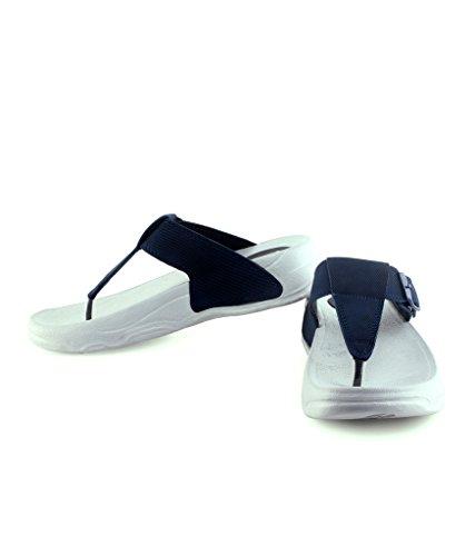 Pure Women's Navy Sandal - 7