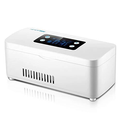 GG-home Mini wiederaufladbare tragbare Insulinkühlbox Reisekoffer LCD-Display 2-18 ° C Insulinkühler Minikühlschrank Insulin DHL-Schiff