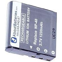 Batteria per PENTAX XG-1, 3.7V, 1230mAh, Li-ion