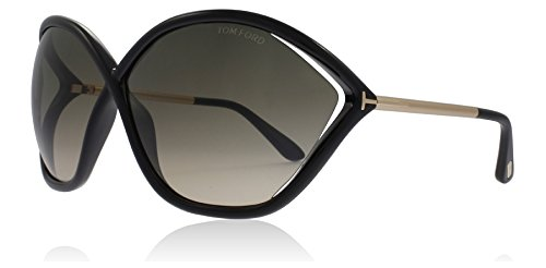 Tom Ford Bella FT0529 C71 01B (shiny black / gradient smoke) Sonnenbrillen