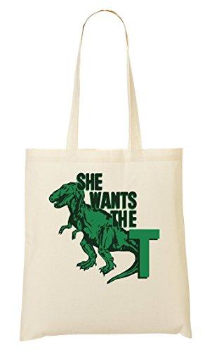 She Wants The T Cool T-Rex Tragetasche - T-trex