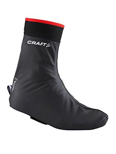 CRAFT CR1902999 Sur-chaussures de vélo 9430 Noir/Rouge FR : 43-45 (Taille Fabricant : 43-45)