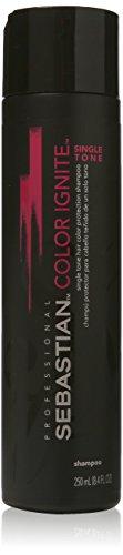 Sebastian Color Ignite Single Tone Hair Color Protection Shampoo, 8.4 Ounce by Deva Concepts - DROPSHIP