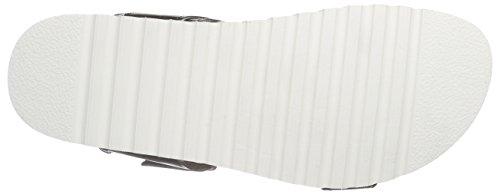CaShott 15070, Sandales Plateforme femme Blanc - Weiß (White Dirty Polido 476)