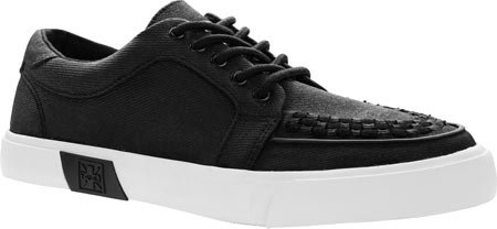 T.U.K Vlk No-ring Vulcanized Sneaker Hommes Baskets Black