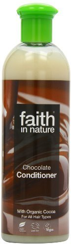 Faith In Nature Chocolate Conditioner Benefits Brunette & Black Hair 400ml by Faith Products Ltd